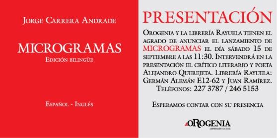 Microgramas - Quito